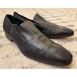 Hugo Boss Leather Loafer Shoes
